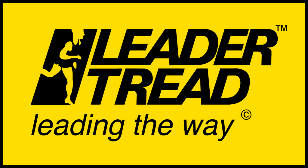Leader Tread Logo - New with yellow block
